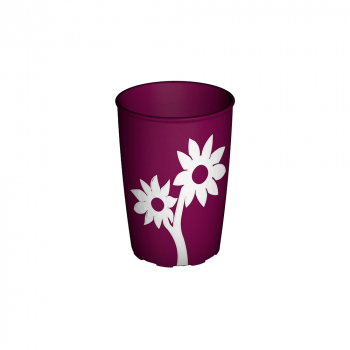 Non-Slip Flower Cup 220ml