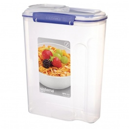 Klip It Storage Container Cereal 4.2 Litre 288x220x115mm