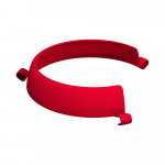 Ornamin Plate Guard Red