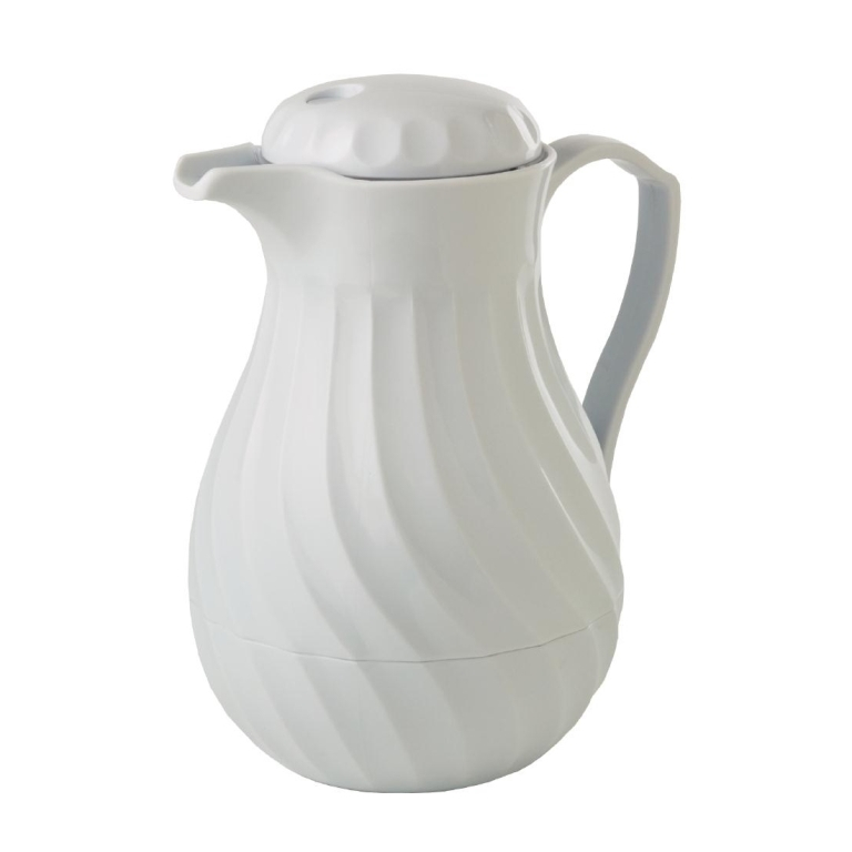 Insulated Beverage Jug 1.8 Litre White