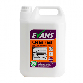Clean Fast Heavy Duty Washroom Cleaner 5 Litres
