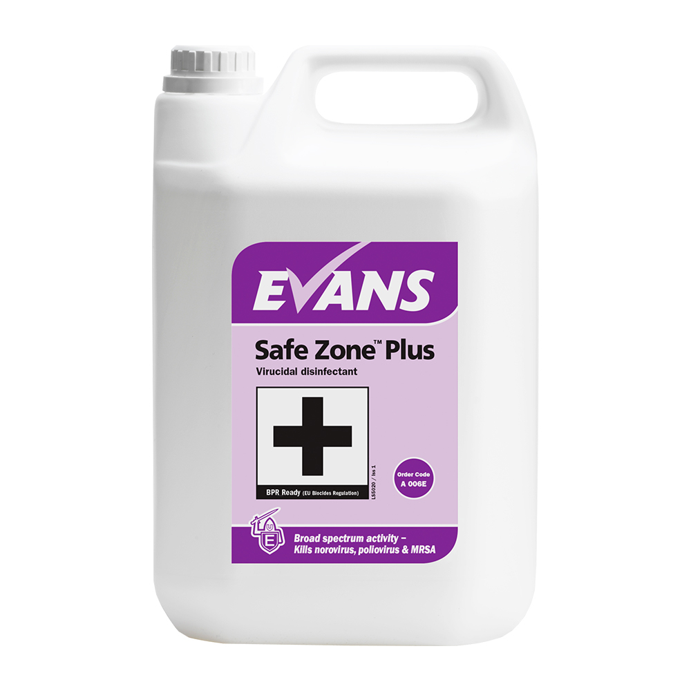 Safe Zone Plus Virucidal Disinfectant Cleaner 5 Litres