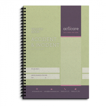 Accident and Incident Record Book
