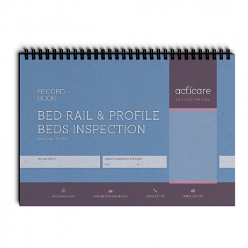 Bed Rail and Profile Beds Inspection Record Book
