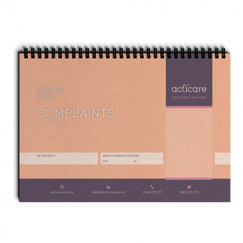 Complaints Record Book