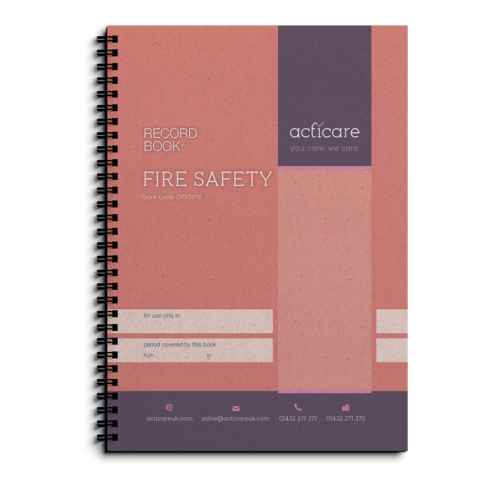 Fire Safety Record Book - QRB52