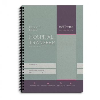 Hospital Transfer Record Book
