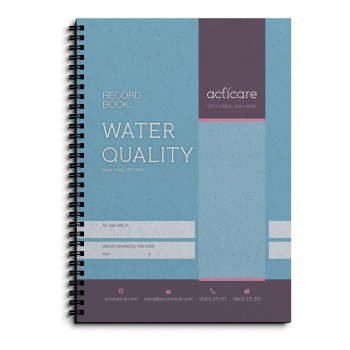 Water Quality Record Book