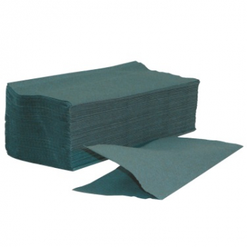 Green Interfold Hand Towel 1ply
