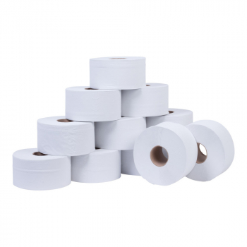 Mini Jumbo Toilet Rolls 2.5inch Core 2ply 150m