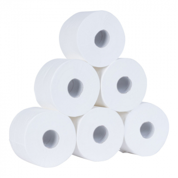 Coreless Mini Jumbo Toilet Rolls 2ply 200m