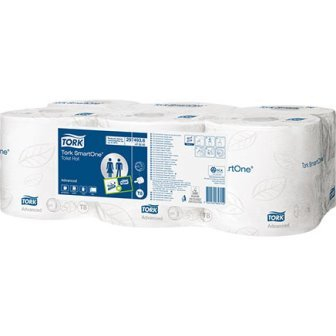 Tork SmartOne Toilet Rolls Advanced 1150 Sheet 207m
