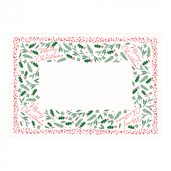 Holly & Ivy Paper Place Mats