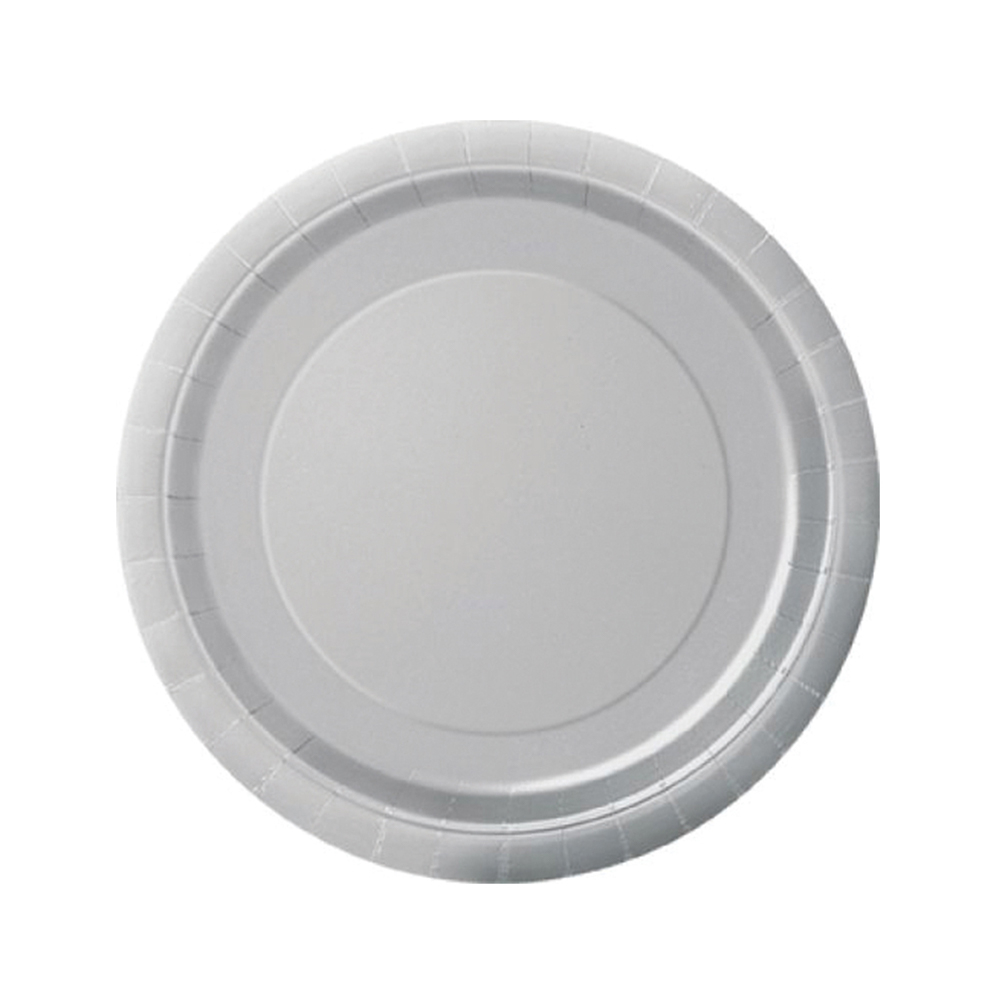 Silver Paper Plates 9inch
