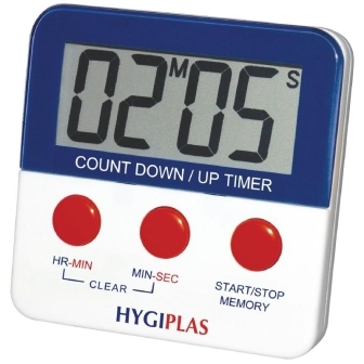 Hygiplas Countdown Timer Min/Sec and Hrs/Min